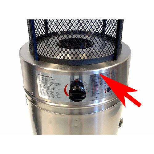 15kw Patio Heater Replacement Burner