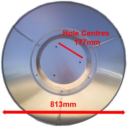 Mushroom Patio Heater Replacement Reflector