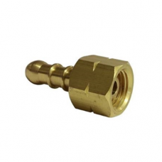 """3/8"""" LH BBQ Connector for 8mm LPG Hose"""