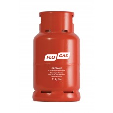 Flogas 11kg Commercial Propane Gas Bottle (Screw Type) Refill