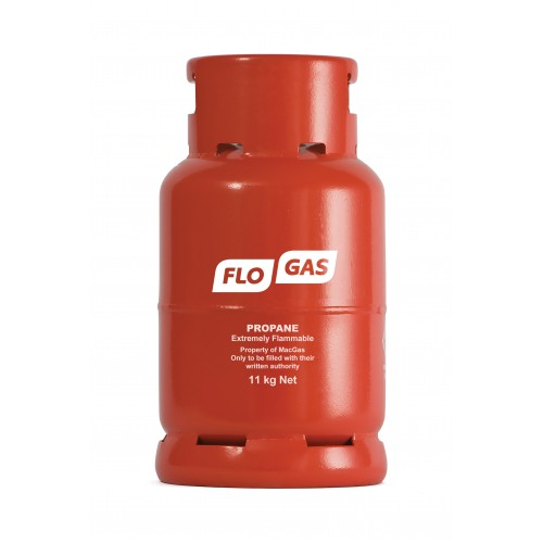 Flogas 11kg Commercial Propane Gas Bottle (Screw Type) Refill