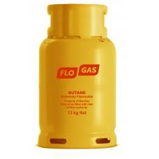 Flogas 13kg Butane Gas Bottle 21mm Refill