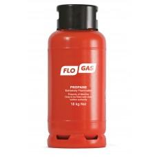 Flogas 18kg Commercial Forklift Gas Bottle (FLT) Propane Refill