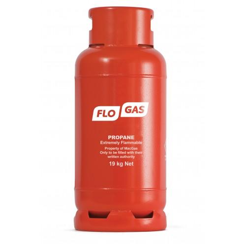 Flogas 19kg Commercial Propane Gas Bottle Refill