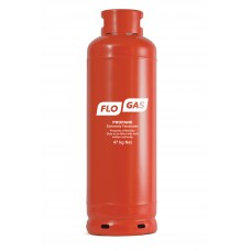 Flogas 47kg Commercial Propane Gas Bottle (Screw Type) Refill