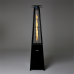 Real Flame Pyramid Outdoor Patio Heater Stainless Steel or Black  -  Package